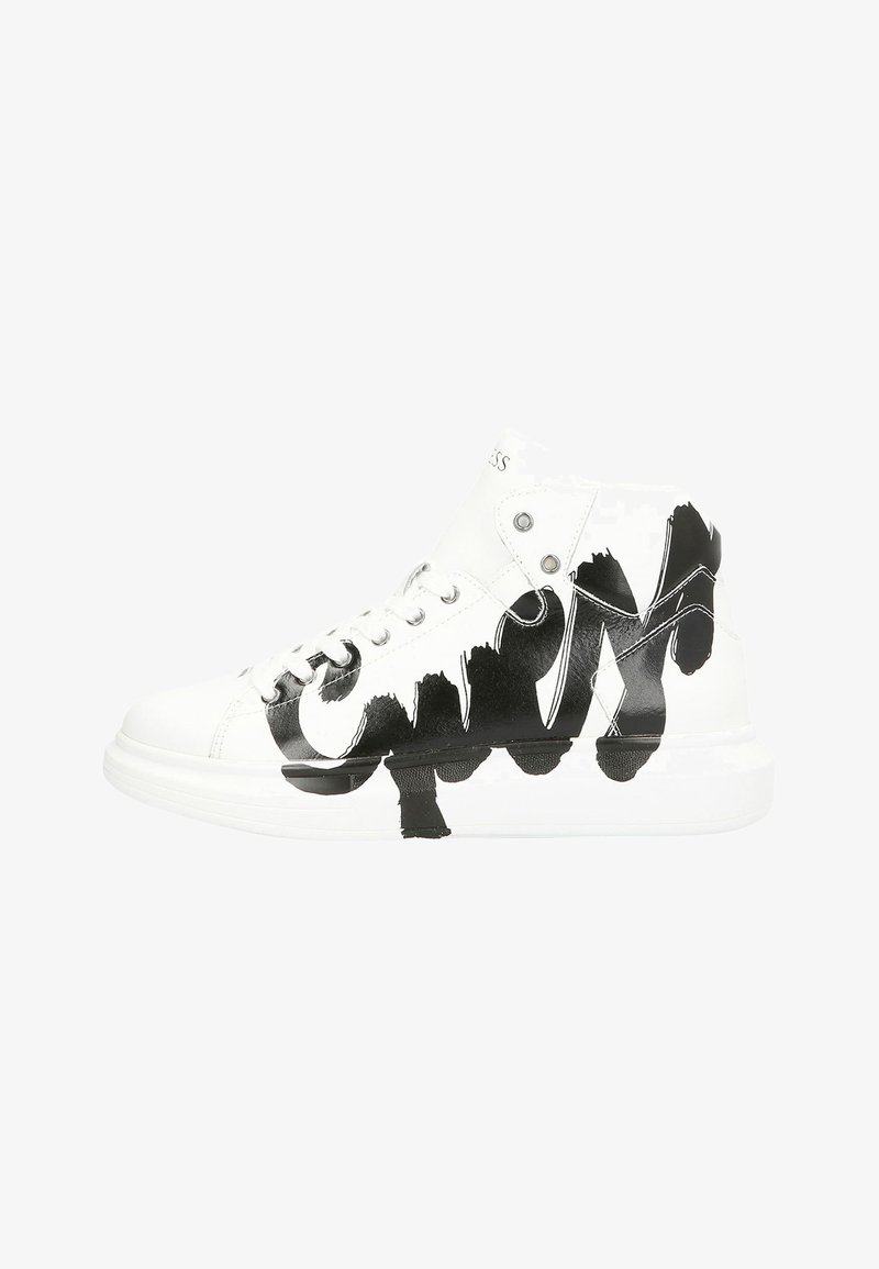 Guess - SALERNO MID - High-top trainers - white