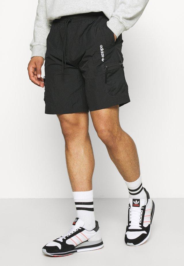 UNISEX - Shorts - black