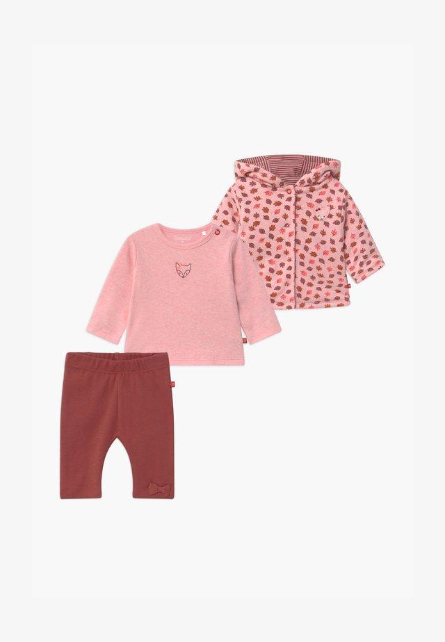 SET - Gilet - light pink