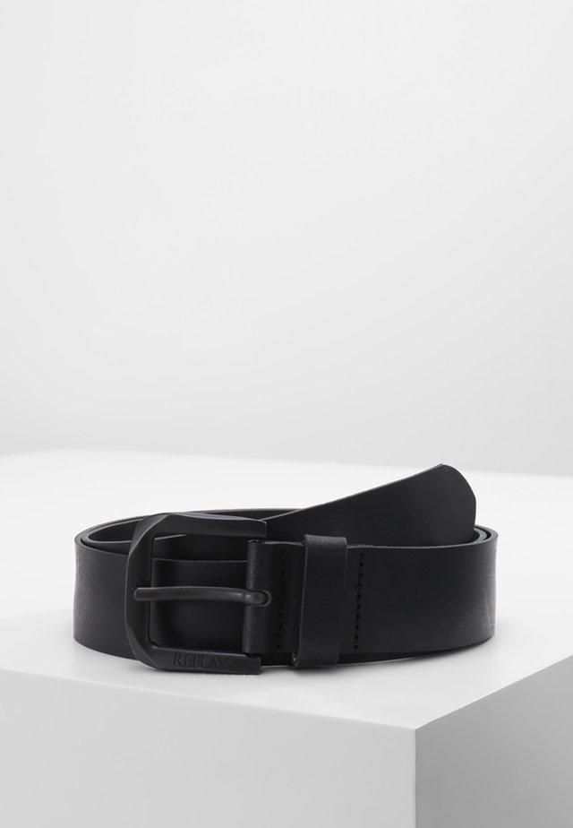 CINTURA - Pasek - black