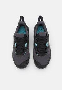 adidas Performance - TERREX AX4 - Hiking shoes - core black/grey three/mint ton - 3