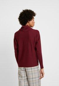 s.Oliver - Stickad tröja - bordeaux - 2