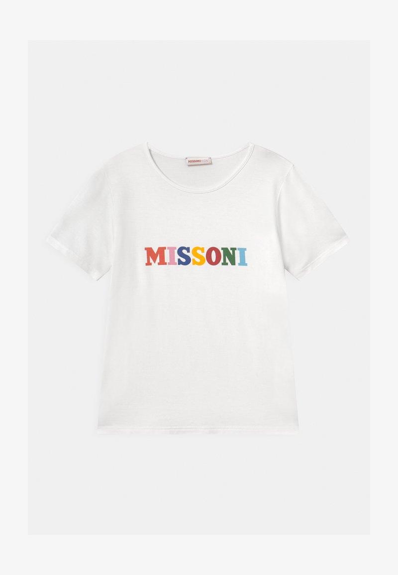 Missoni Kids - MANICA CORTA - Print T-shirt - white