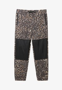 Vans - MN POLAR FLEECE PANT - Pantaloni sportivi - leopard print - 3
