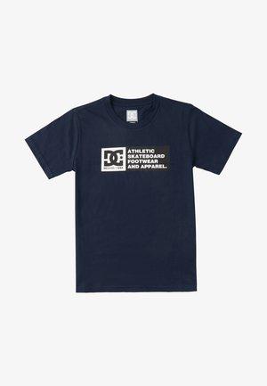 Density Zone  - T-shirt imprimé - navy blazer