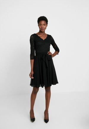 OCTAVIA STRETCH - Vestido de cóctel - black