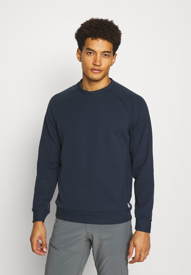 MONO AIR CREW - Sweatshirt - blue
