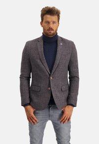 State of Art - Blazer jacket - midnight/brick - 0