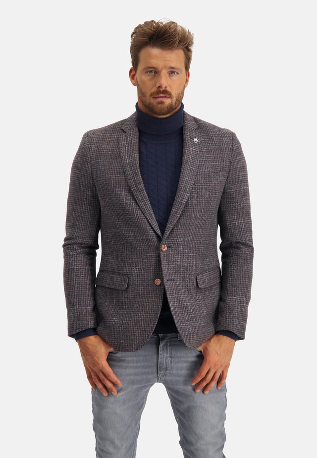 Blazer jacket - midnight/brick