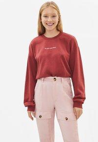 Bershka - Sweatshirt - red - 0