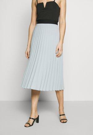 A-line skirt - smokey blue