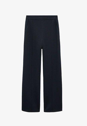 TAMMY - Trousers - námořnická modrá