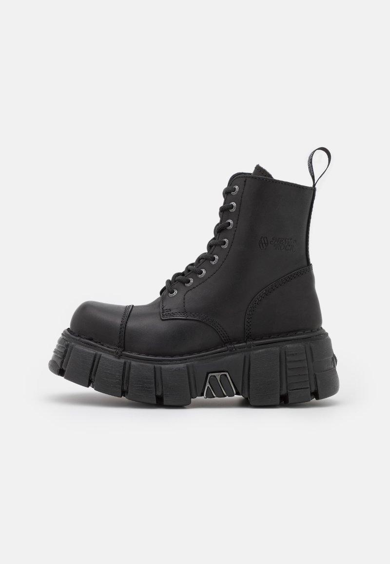 New Rock - UNISEX - Platform ankle boots - black