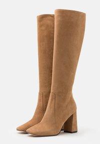Bianca Di - High heeled boots - camel - 2