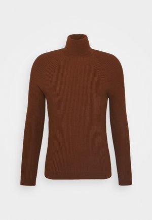 BLEND YARN - Stickad tröja - ruggine