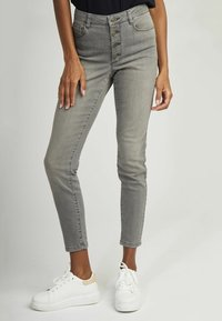 NAF NAF - Slim fit jeans - grey - 0
