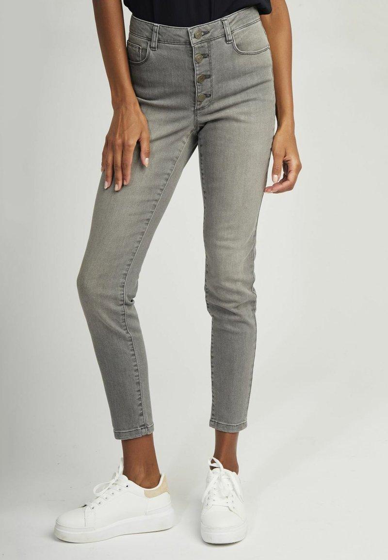 NAF NAF - Slim fit jeans - grey