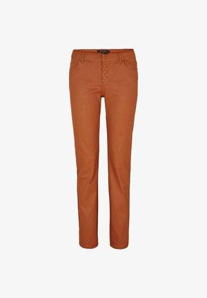 Trousers - cognac