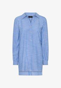 Live Unlimited London - Button-down blouse - blue - 1
