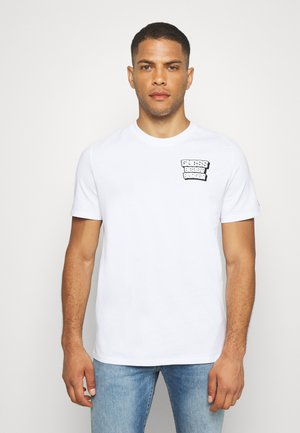 BEST BURGER TEE - Camiseta estampada - blanc pur