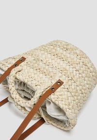 PULL&BEAR - Tote bag - sand - 3