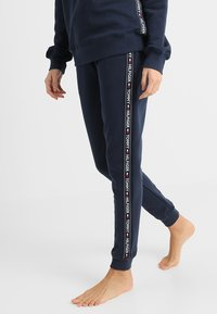 Tommy Hilfiger - AUTHENTIC TRACK PANT  - Pyjama bottoms - blue - 0