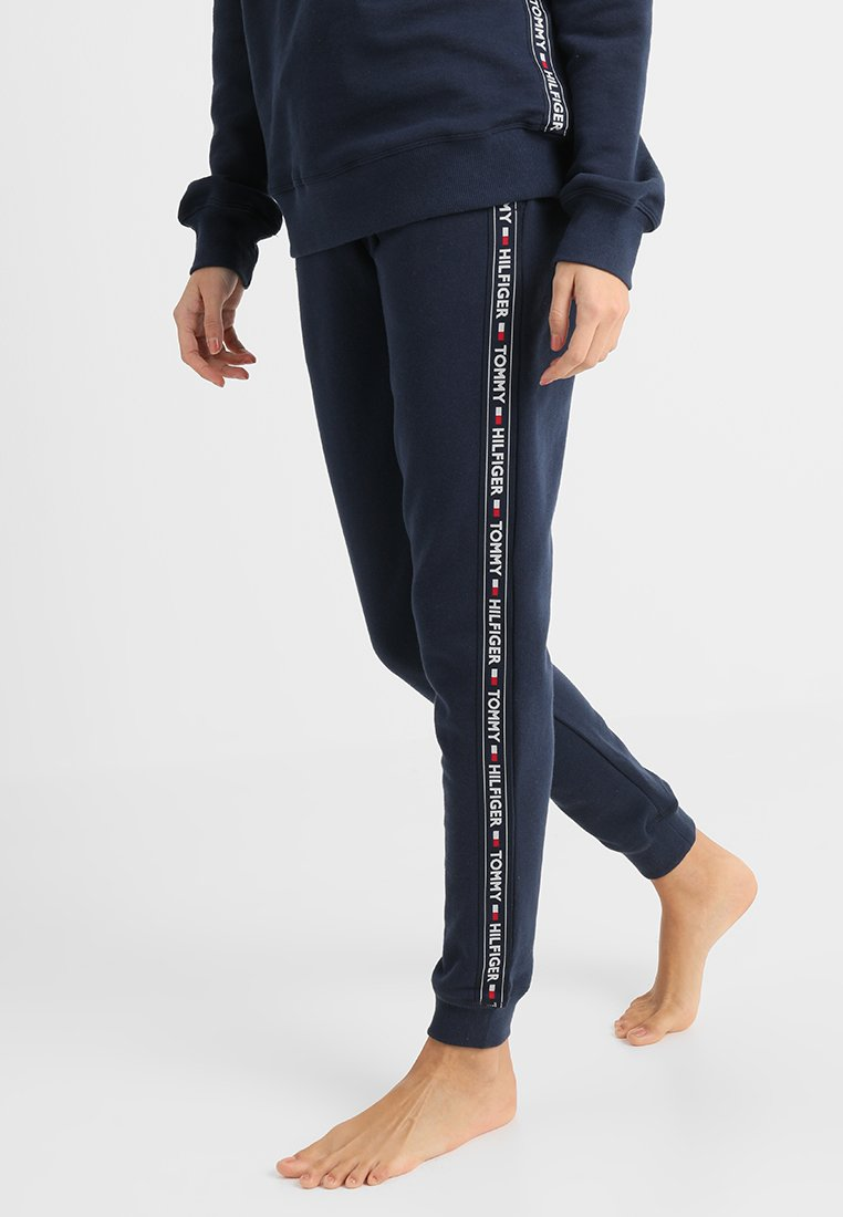 Tommy Hilfiger - AUTHENTIC TRACK PANT  - Pyjama bottoms - blue