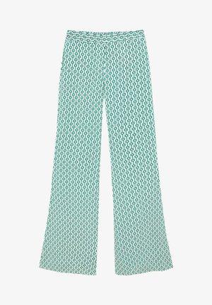 RETRO - Trousers - green