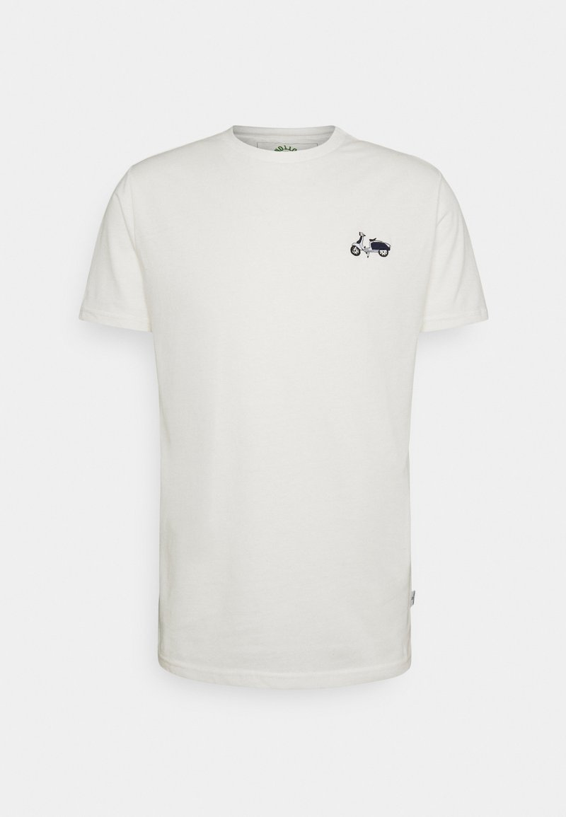 Kronstadt - EMBRODERY - Print T-shirt - white