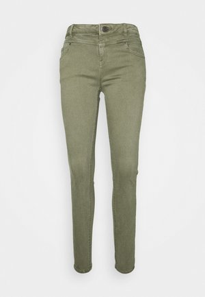Slim fit jeans - khaki green