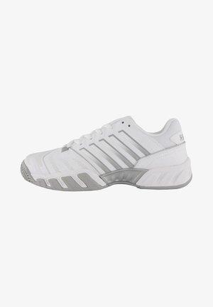 Clay court tennis shoes - weiss / grau