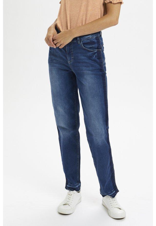 CRKINIA - Jeans a sigaretta - rich blue denim
