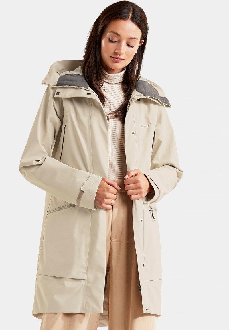 Didriksons - ILMA WNS - Winter coat - light beige