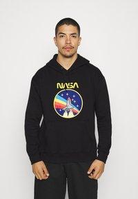 Nominal - NASA ROCKET HOOD - Sweatshirt - black - 0