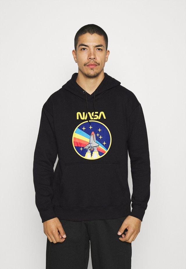NASA ROCKET HOOD - Sweater - black