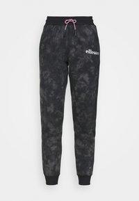 Ellesse - LORIOR - Tracksuit bottoms - dark grey - 3
