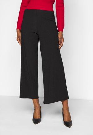 FAUCHETTE TROUSER - Pantalones - black