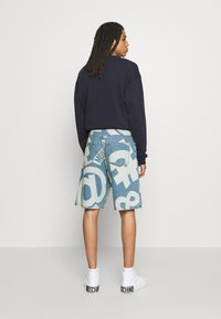 MOSCHINO - TROUSERS - Denim shorts - fantasy blue - 4