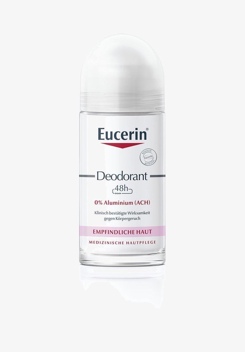 Eucerin - DEODORANT ROLL-ON EMPFINDLICHE HAUT 24H, DEO OHNE ALUMINIUM - Deodorant - -