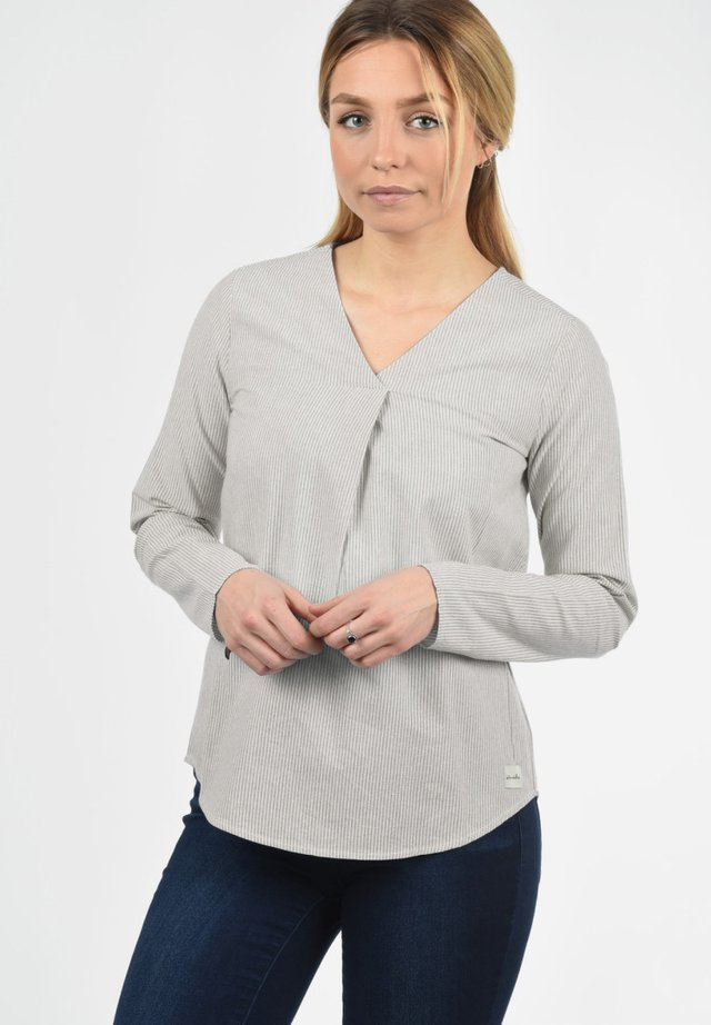 LANGARMBLUSE STACEY - Blouse - opal grey