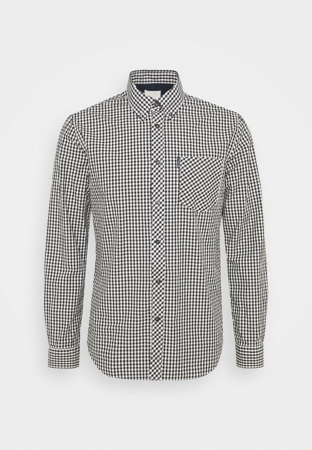 SIGNATURE GINGHAM - Camicia - black