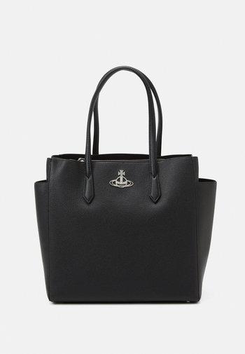 JOHANNA LARGE SHOPPER BAG UNISEX - Tote bag - black