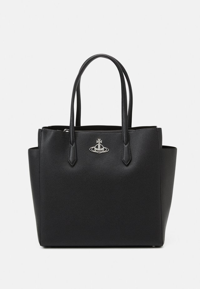 JOHANNA LARGE SHOPPER BAG UNISEX - Shopping Bag - black