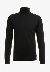 Only & Sons - ONSESSAY ROLLNECK TEE - Long sleeved top - black - 3