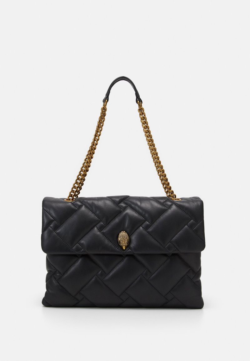 Kurt Geiger London - KENSINGTON SOFT BAG - Torebka - black
