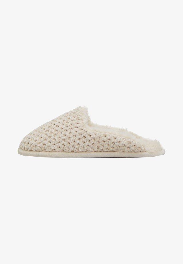 Pantoffels - white