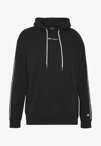 Champion - TAPE HOODED - Bluza z kapturem - black - 4