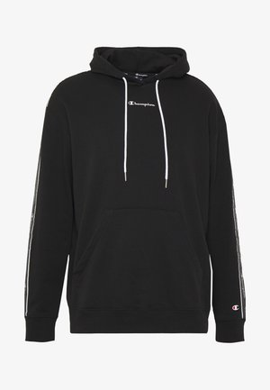 HOODED - Bluza z kapturem - black