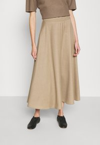 WEEKEND MaxMara - CABLO - A-line skirt - camel - 0