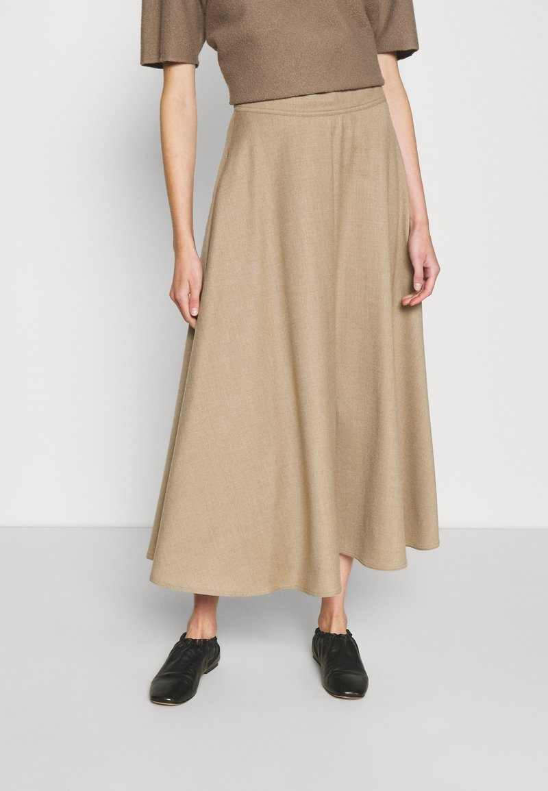 WEEKEND MaxMara - CABLO - A-line skirt - camel